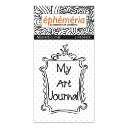 Clear stamp My Art Journal