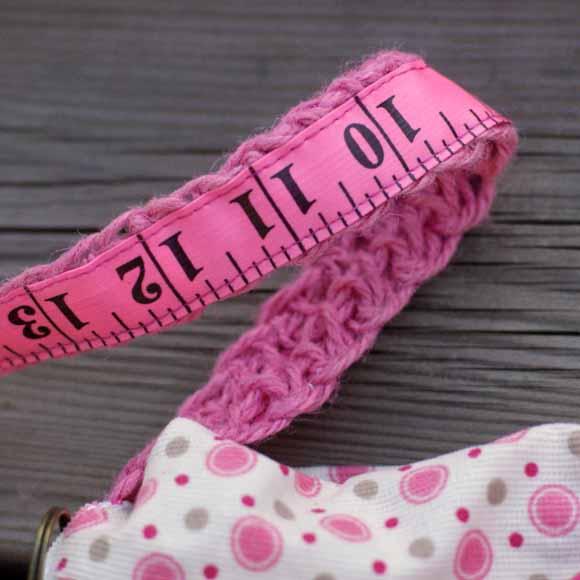 ficelle de jute rose-sac en crochet-éphéméria-