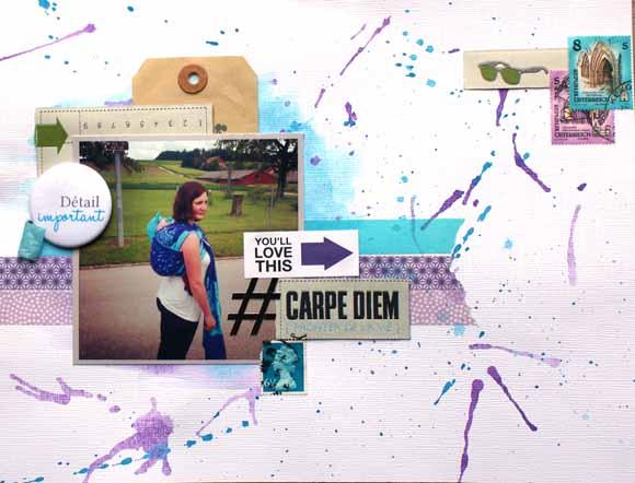 tampon hashtag éphéméria by Chloé