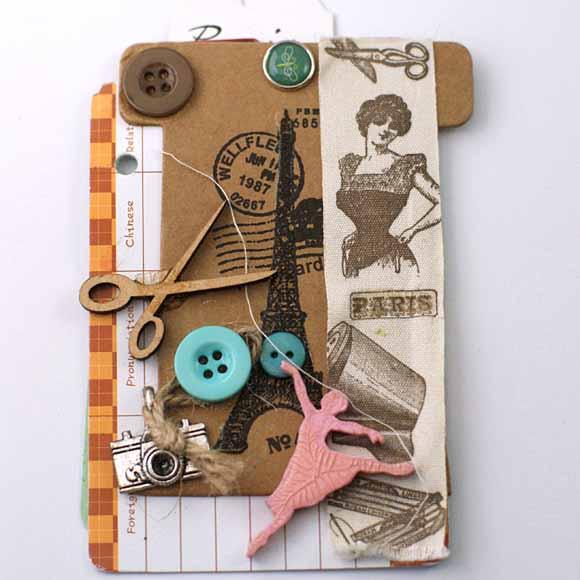 mini album -boite journaling-éphéméria by Alice Gain