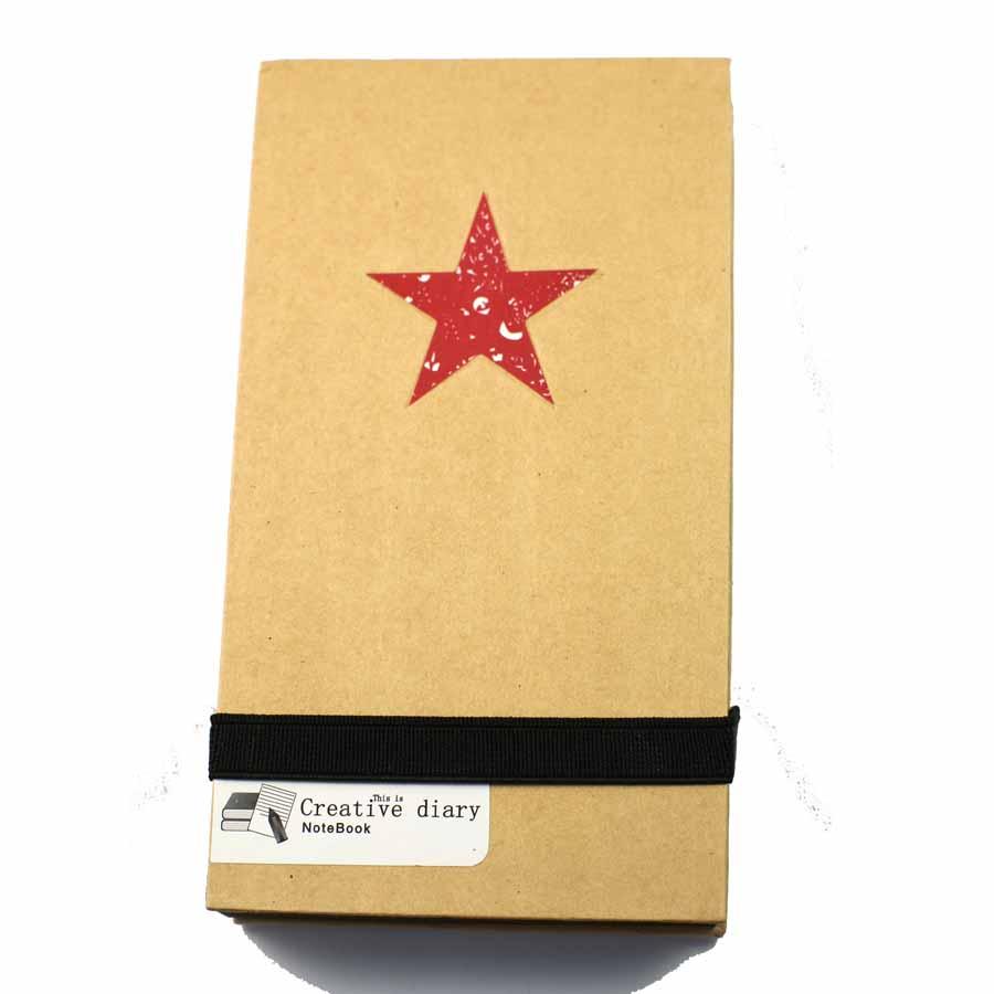 carnet kraft étoile -Éphéméria-