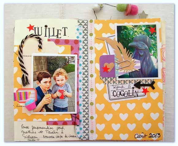 Art journal : carnet, twine... Éphéméria by Cricri