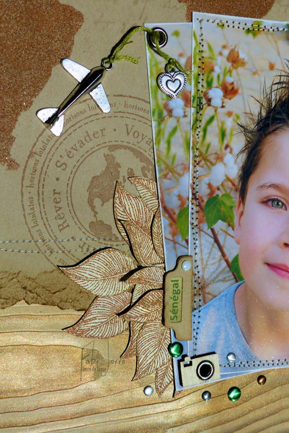Breloques et Pastilles métallisées Éphéméria-Page de Fabi Jorro