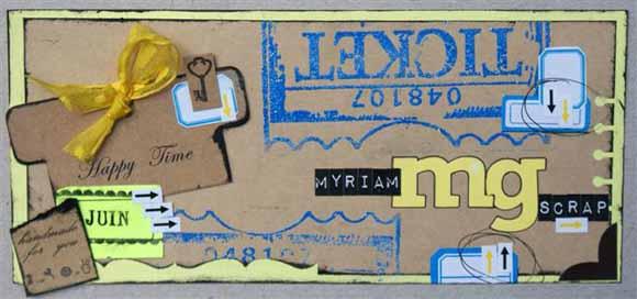 Bannière de Myriam Challenge éphéméria