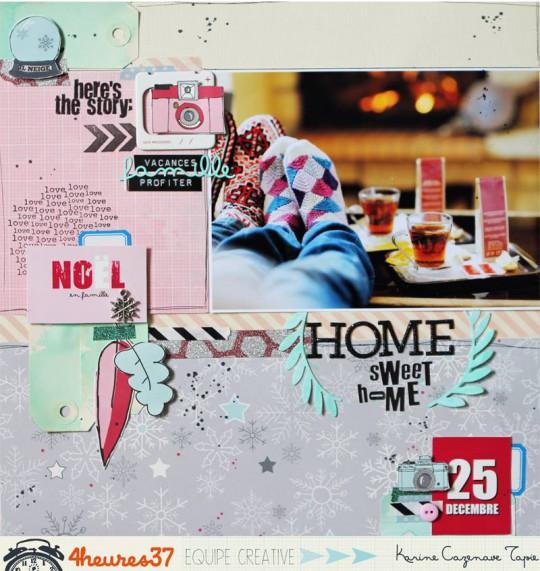 """Collection """"une saison chez éphéméri"""" 4h37- By Karine Cazenave Tapie"""
