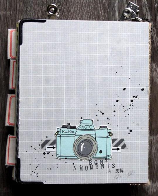 Papiers 4h37 et embellissements Ephéméria by MiniMlescrap