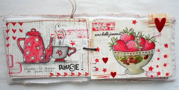 Etoiles rouges et sergé étiquettes Ephéméria by Cricri