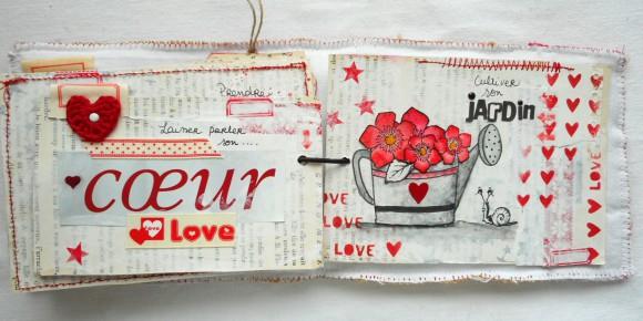 Etiquettes, rubans et étoiles rouges Ephéméria by Cricri