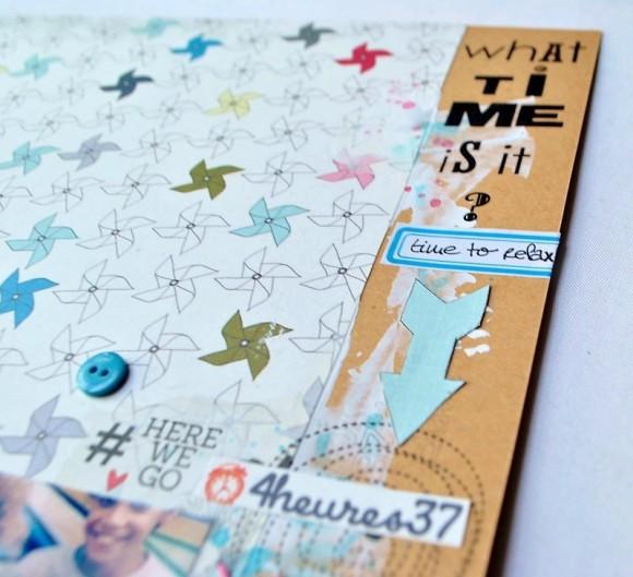 Papiers 4h37, boutons et étiquette Ephéméria by Zyan