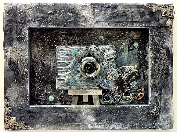 Embellissements métal, breloques et pastilles Ephéméria by Corinne Lagneux