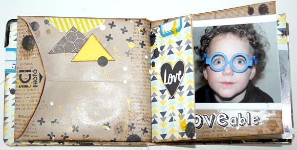 Cardstock, étiquette et enveloppe Ephéméria by Mackenzie Séverine Breton