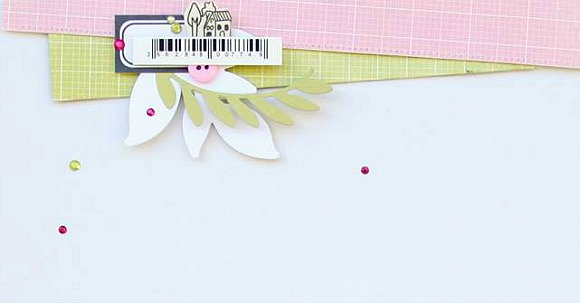 Papiers et dies 4h37, étiquette, boutons, ruban sergé et pastilles Ephéméria by Nécureuil