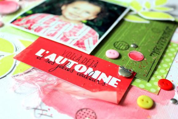 Papiers, vignettes et stickers 4h37, boutons et breloque Ephéméria by Séverine Breton