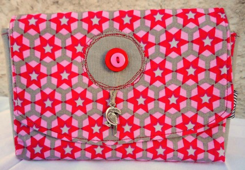 Breloque et boutons Ephéméria by Cricri04