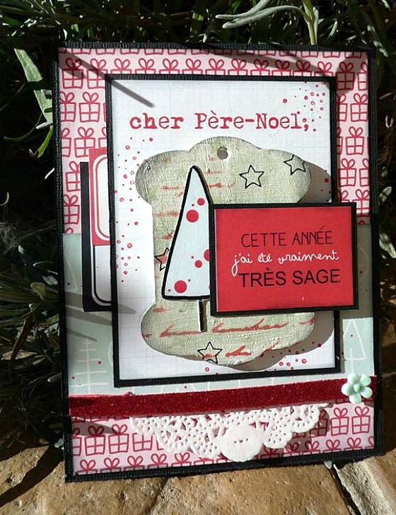 Collection Epicéas 4h37, cardstocks, tag bois, étiquettes, fleurette Ephéméria by Krismay