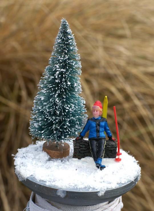 Mini album hivernal en 4heures37-éphéméria- By EdithR