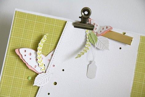 Papier 4h37, cardstocks, enamel et pince Ephéméria by Nécureuil