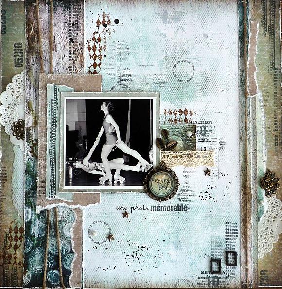 Etiquette, pastilles et étoiles, breloques, cadres métal, dentelle et ficelle de jute Ephéméria by Krismay