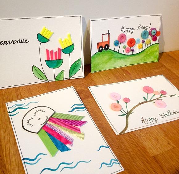 Boutons et cartes Ephéméria by Luckie