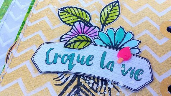 Papiers et tampons L'Encre & l'Image, étiquettes, dots et boutons Ephéméria by Cricri04