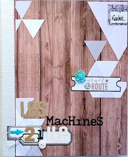 Mini album Nomade Marie Gamiz 1