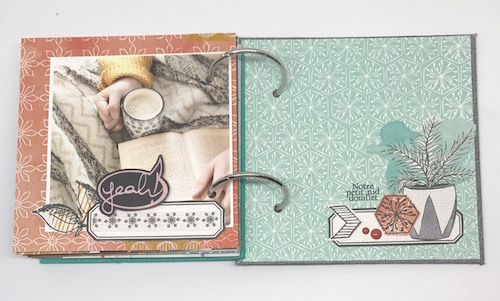 Mini album Cozy Days Julie 10