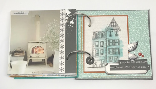 Mini album Cozy Days Julie 8