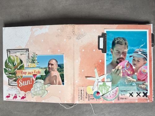 Mini album LPPD Les Ateliers de Karine Marie Gamiz 6