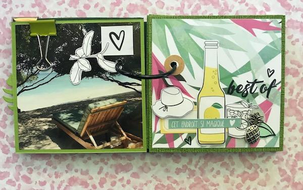 Mini album sous le soleil ephemeria Julie Alvarez1