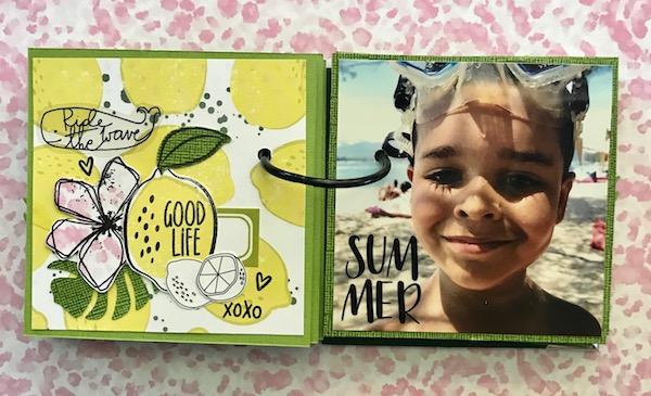Mini album sous le soleil ephemeria Julie Alvarez2