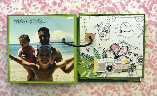 Mini album sous le soleil ephemeria Julie Alvarez4