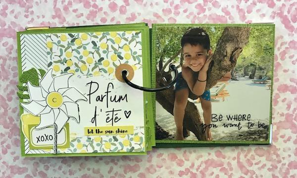 Mini album sous le soleil ephemeria Julie Alvarez5