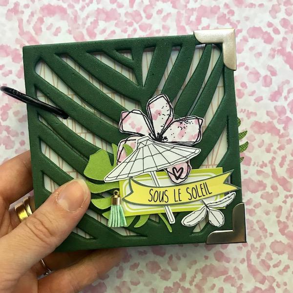 Mini album sous le soleil ephemeria Julie Alvarez6