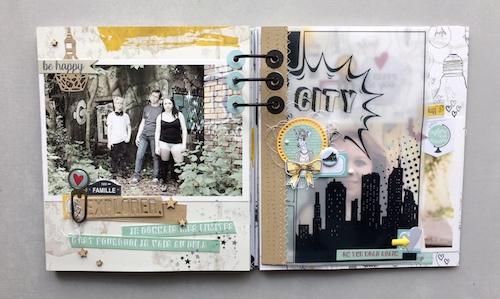 Mini album correspondance 11