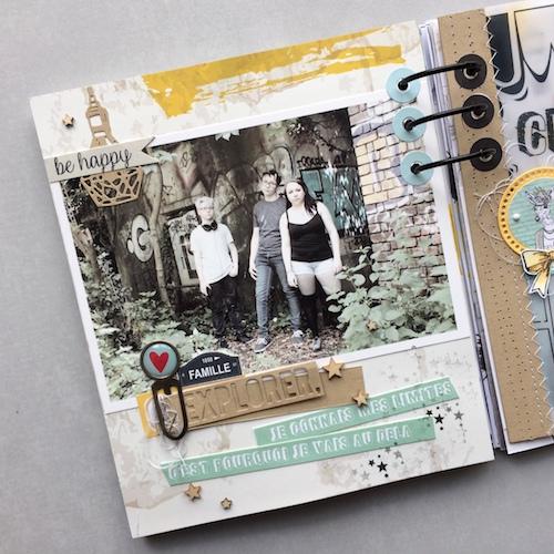 Mini album correspondance 12