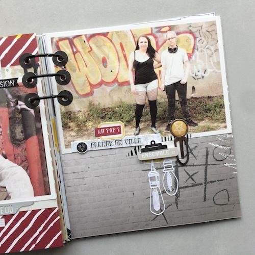 Mini album correspondance 18