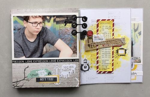 Mini album correspondance 19