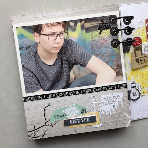 Mini album correspondance 20
