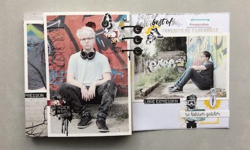 Mini album correspondance 22
