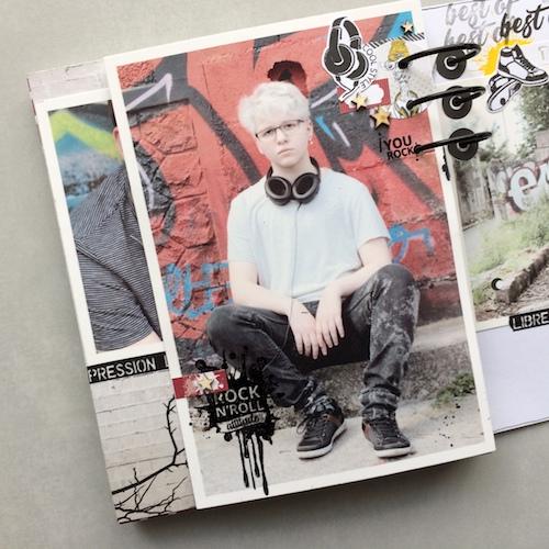 Mini album correspondance 23