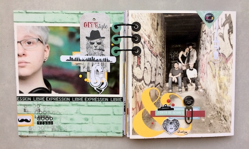 Mini album correspondance 25