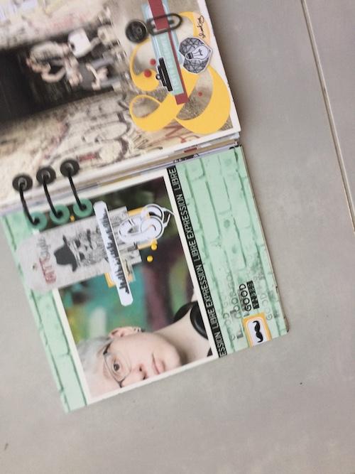 Mini album correspondance 26
