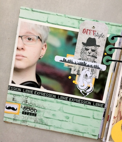 Mini album correspondance 27
