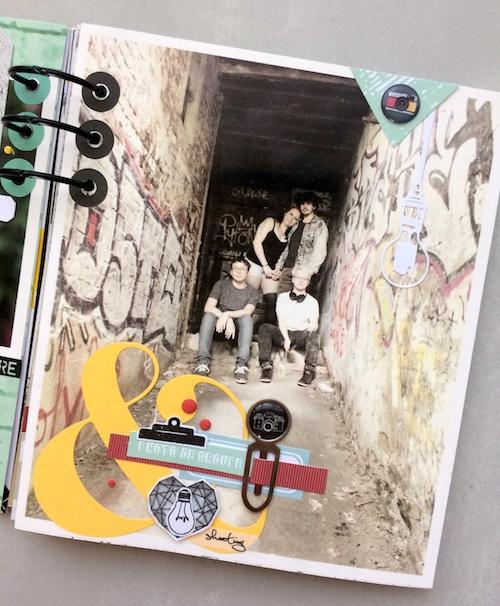 Mini album correspondance 28