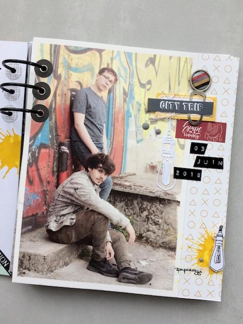 Mini album correspondance 4