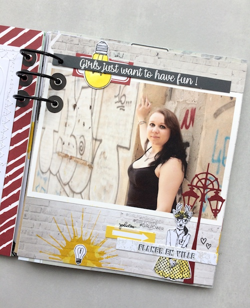 Mini album correspondance 7