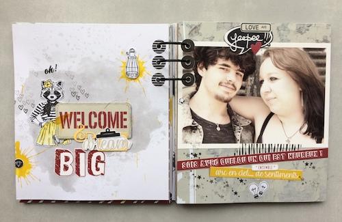 Mini album correspondance 8