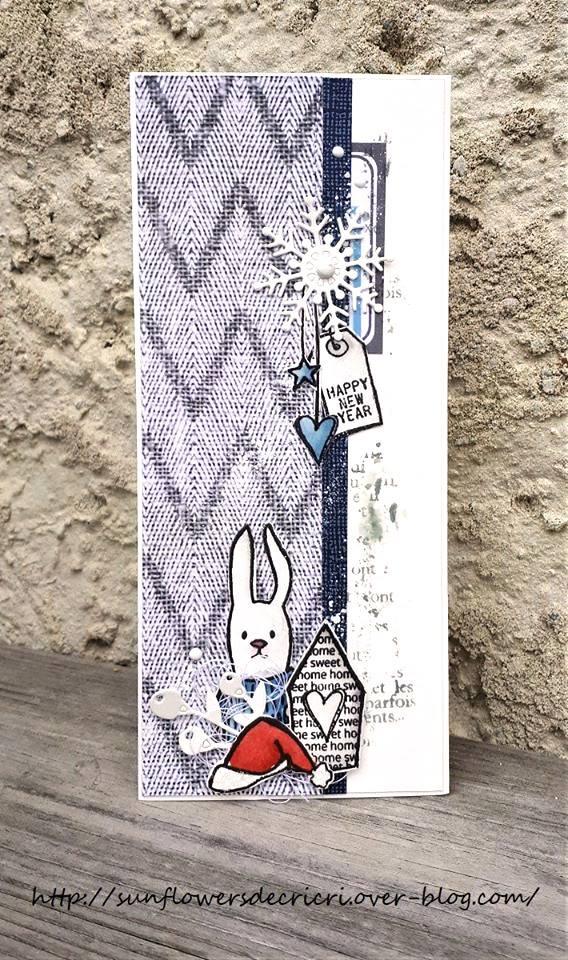 Carte Voeux-Collection Free Like a Bird-By Cricri pour Ephéméria