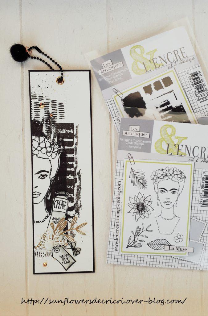Tag 3 Marque page éphéméria et l'Encre et l'Image by Cricri