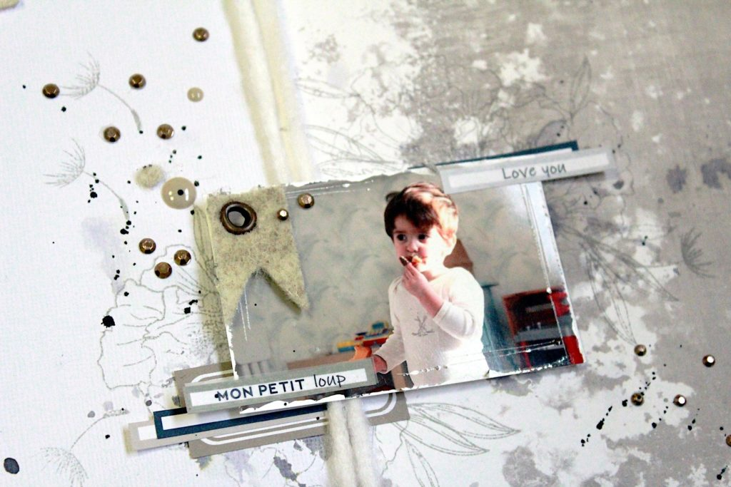 page scrapbooking ephemeria by anais